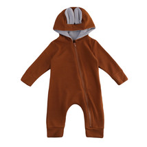 Baby Boys Girls Infant Deer 3D Romper Jumpsuit Clothes Outfits-in Romper... - $13.00