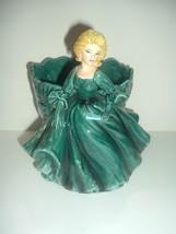 Lefton 4599 Lady Planter Green Gown Vintage - $39.99
