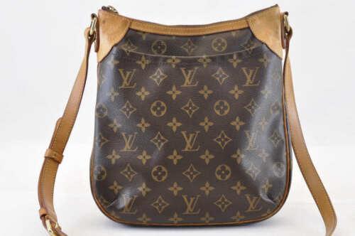LOUIS VUITTON Monogram Odeon PM Shoulder Bag M56390 LV Auth sa741 image 2