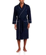 Nautica Men's Woven J-Class Robe, Peacoat, Small/Medium - $41.63