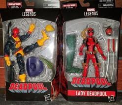 Marvel Legends Series - Deadpool and Lady Deadpool 2 PK- BAF (Marvel's S... - $37.98