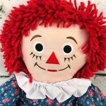 Applause Raggedy Anne Plush Classic Retro Rag Doll Red Yarn Hair Stuffed Toy image 3
