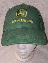 John Deere LP14418 Green Adjustable Baseball Cap With Leaping Deer Logo image 2
