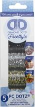 Leisure Arts Diamond Dotz Freestyle Sampler Pack 5/Pkg-Metallic - $14.30