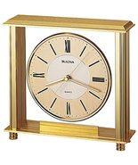 Bulova B1700 Grand Prix Clock, Brass Mantle, Award Clock, Engraving Plate  - $20.69