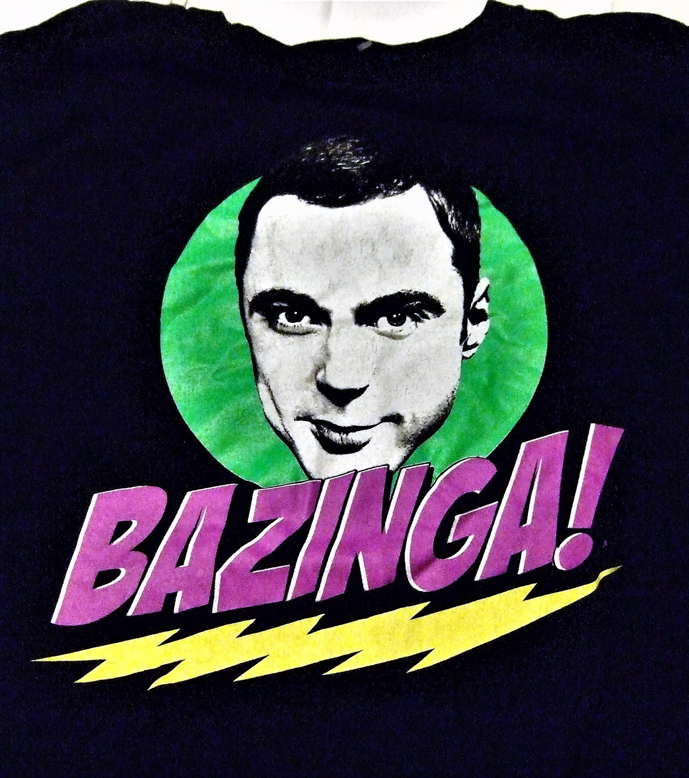 "Primary image for T Shirt -The Big Bang Theory Sheldon Cooper "" Baznaga"""