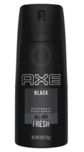 AXE Black 3 Piece + Bonus Gold Deodorant Spray Body Wash Gift Pack Collection image 6