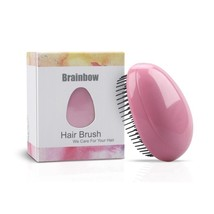 Egg Design Magic Hair Brush Round Portable Plastic Massage Brush Styling... - $7.59