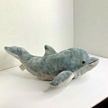 Kohs Plush Stuffed Animal Toy Gray Dolphin 2011 16.5 in Lgth - $8.59
