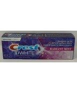 Crest Toothpaste 3 Ounce 3D White Radiant Mint - $5.00