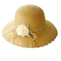 SAGACE hats Women Summer beach sun Hat Wide Brim Cap Wide Brim Straw Floppy Derb image 2