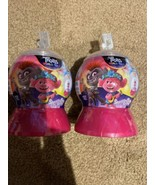 Dreamworks Trolls World Tour Sparkle Dome Surprise Lot Of 2 Snow Globe... - $14.35