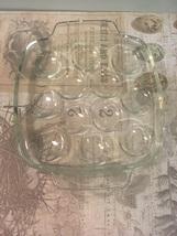 Vintage Pyrex Clear Glass Deviled Egg Tray Pyrex France - $8.00
