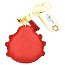 Pave Crystal Accent 3D Stuffed Pillow Ladybug Keychain Key Chain image 2