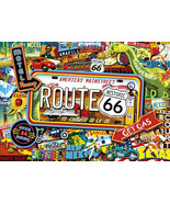 Buffalo Americana Collection America's Main Street 500 Piece Puzzle Rout... - $18.81