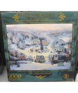 Ceaco Thomas Kinkade St. Nicholas Circle Puzzle 1000 Pcs Sealed - $18.00