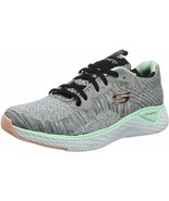 Womens Skechers Solar Fuse Brisk Escape Sneaker - Gray, Size 9 [13328/GYMT] - $79.99