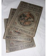 Antique Winston Readers Primer Second Third Furman and Maltby 3 Books - $24.99