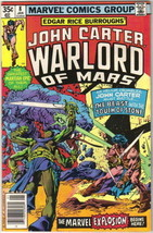 John Carter Warlord of Mars Comic Book #8 Marvel Comics 1978 FINE - $4.50