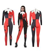 Squad Harley Quinn Jumpsuit Catsuit Sexy Cosplay Costumes Halloween Women - $29.18+