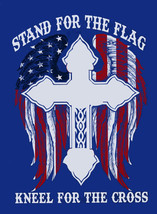 Stand For The Flag Cross Stitch Pattern LOOK - $4.95