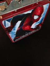 Marvel The Amazing Spider-Man 2 Tin Tote/ Metal Lunch Box Made in China image 5