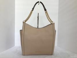 MICHAEL Michael Kors Newbury Leather Medium Chain Shoulder Tote Bag Colo... - $154.99