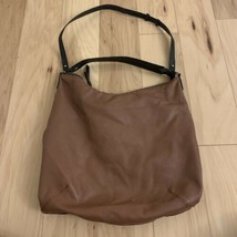 Zara Basic Women's Hobo Bag Brown 2 Straps - $24.74