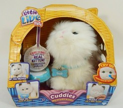 Little Live Pets My Dream Kitten Cuddles Interactive Life Like Plush Toy... - $44.54