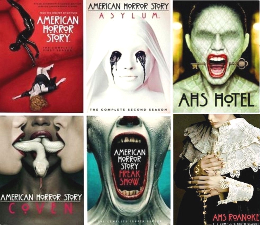 American horror story 1 6 dvd asylum  coven ronoke