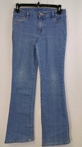 Faded Glory Jeans Size 10 Girl's Kid's Adjustable Waist Denim Medium Wash  - $5.23