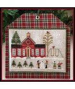 Schoolhouse #11 Hometown Holidays cross stitch Little House Needleworks - $5.40