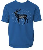 Raindeer T Shirt Mens Deer Animals Animal Nature Well Hunt Any Neck S-3XL - $12.42+