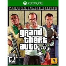Rockstar Games Grand Theft Auto Five V Premium Edition Video Game For Microsoft - $52.46