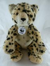 "Build-A-Bear WWF World Wildlife Plush Leopard Cheetah 12"" Stuffed Animal... - $14.84"