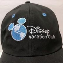 NWOT Disney Vacation Club Member Black Hat Walt Cruise Travel Mickey World - $42.07