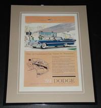 1959 Dodge 11x14 Framed ORIGINAL Vintage Advertisement Poster - $46.39