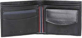 Tommy Hilfiger Men's Coin Pouch Credit Card ID Wallet 31TL25X020 New w/Defect