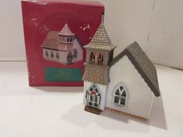 Hallmark 1994 Sarah Plain And Tall Collection Country Church Boxed - $9.30