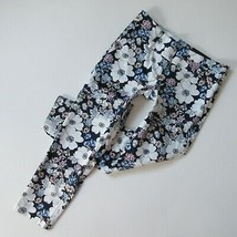 NWT Ann Taylor Modern Crop in Peony Blossom Sketched Floral Pants 0 - $28.99