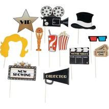 Movie Night Photo Stick Props - $9.49