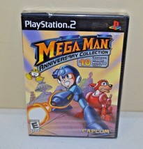 Mega Man Anniversary Collection (Sony PlayStation 2, 2004) BRAND NEW SEALED PS2 - $19.79