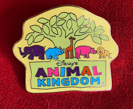 2001 WDW Animal Kingdom Pin Whimsical Animals Celebration Event 1 of 5 Set - $9.99