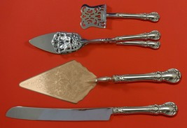 Old Master by Towle Sterling Silver Dessert Serving Set 4pc Custom Made - $299.00
