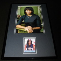 Michelle Obama 11x17 Framed ORIGINAL Decision 2016 Card & Photo Display - $69.29