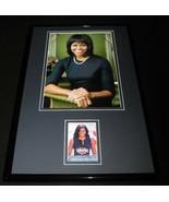 Michelle Obama 11x17 Framed ORIGINAL Decision 2016 Card & Photo Display - $69.29