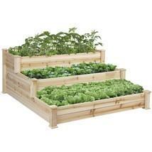 Eight24hours Raised Vegetable Garden Bed 3 Tier... - $196.00