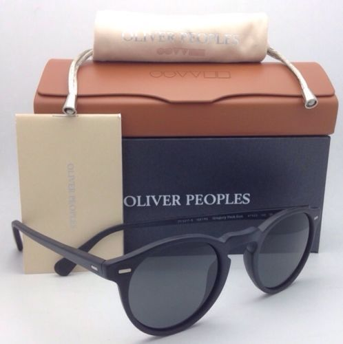 Polarized OLIVER PEOPLES Sunglasses GREGORY PECK OV 5217-S 1031/P2 Black w/ Grey