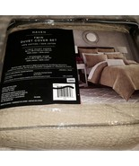 Haven twin Duvet Cover Set in Khaki - $31.99