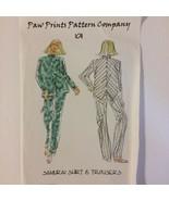 Assymetric Samurai Shirt & Tapered Leg Pants Sewing Pattern Sizes XS to ... - $13.00